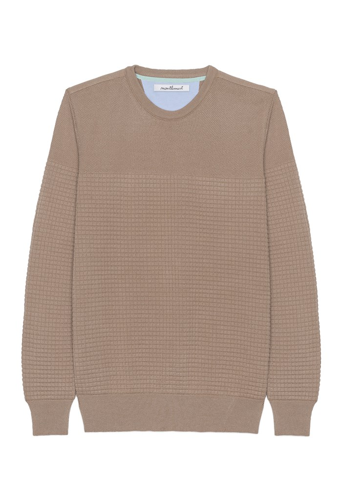Pull FLANEUR - Made in France - Coton Bio GOTS - Marine 7