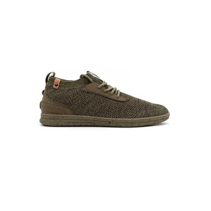 Saola chaussures éco responsables Mindo Burnt Olive Homme