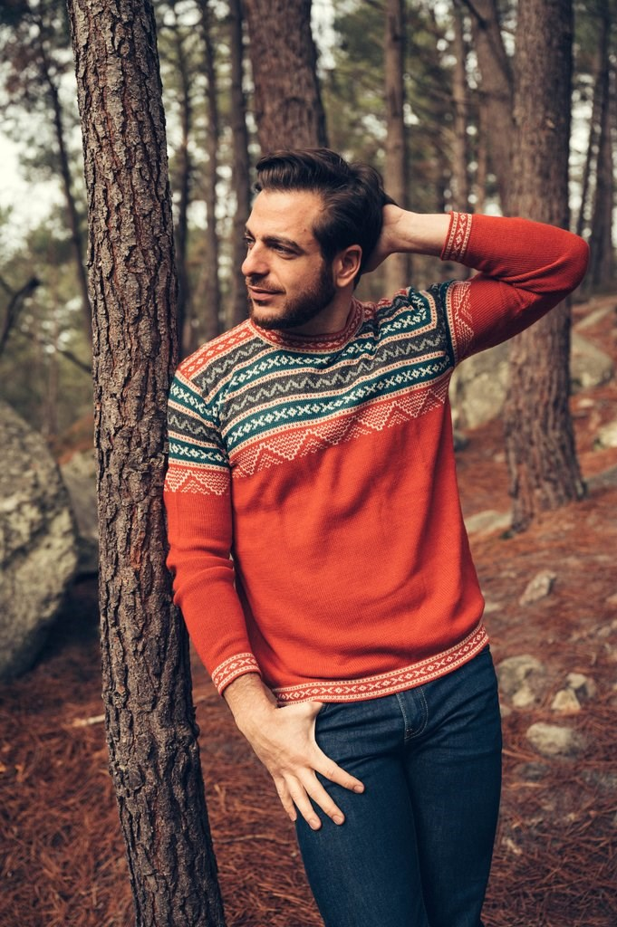 Pull Inca - Rouge - Homme 2