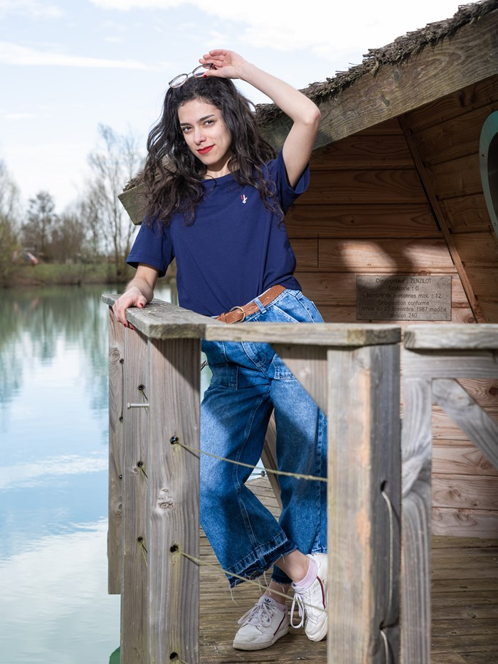 T-shirt 100% recyclé, made in France manches courtes 4