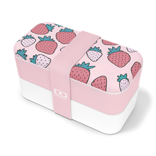Lunchbox Bento Made in France - Graphic Strawberry