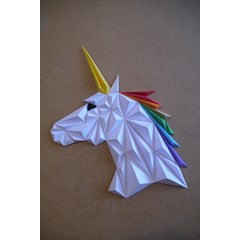 Kit papercraft - Licorne
