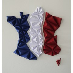 Kit papercraft - France tricolore