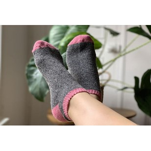 Chaussettes invisibles SUMMER - Bicolores