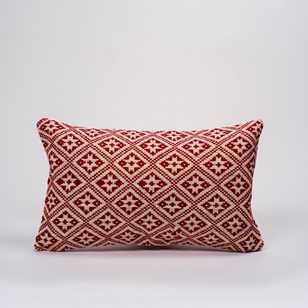 Coussin Dokmai - rouge