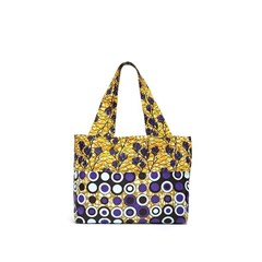 Sac de shopping en wax  - Jouvencelle Pop