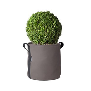 Pot rond (25L), Taupe