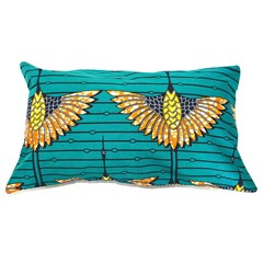 Coussin Paraiso Rectangle en motif wax