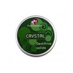 Crystal - Dentifrice solide aux deux menthes