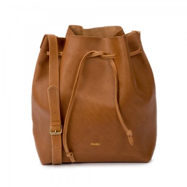 Grand sac seau - Woodé camel