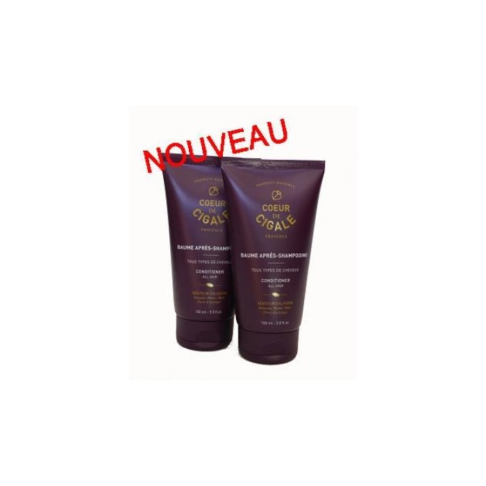 Duo baume après-shampoing