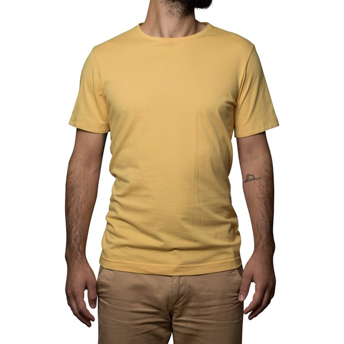T-shirt Ocre - coton Bio - Made in France