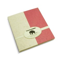 Cahier Bicolore Rouge Passion