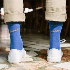 Les Océanes - Chaussettes Frenchsunday - Made In France