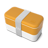 boite-bento-lunchbox-zero-dechet-orange-blanc