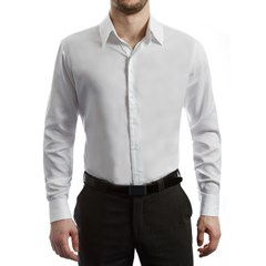 Chemise unie homme