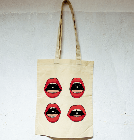 Tote bag Frenchkiss X Cawacem