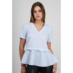 Blouse Romy Bleu made in france