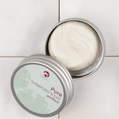Pure - Shampoing solide pour cheveux normaux - Format Voyage