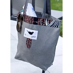 Sac Tote Bag - 40*38 cm - GREY -