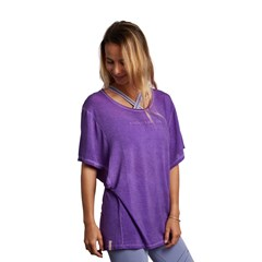 Tee shirt butterfly manches larges - Violet
