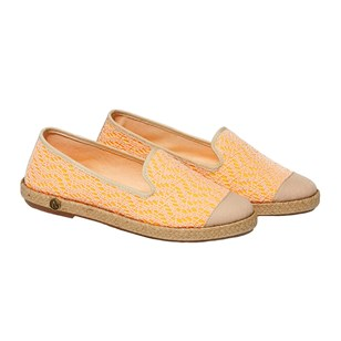 Espadrilles en coton - Orange