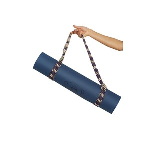 Sangle tapis yoga - Bleu