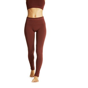Legging Asana base bambou - Marron