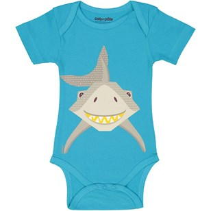 Body en coton bio - Requin