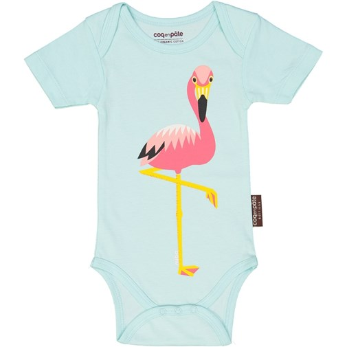 Body motif flamant rose