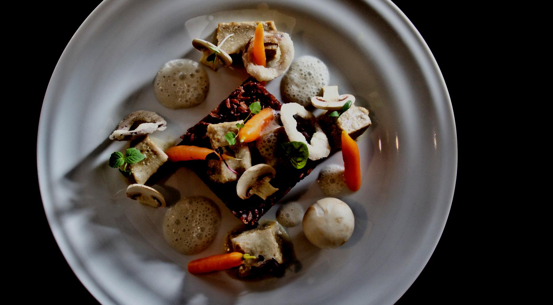 gourmet vegetarian restaurant - HD1800×995