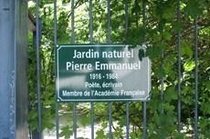 Le Jardin Naturel Pierre Emmanuel, un jardin secret dans le 20ème arrondissement de Paris